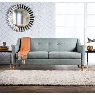 Furniture of America Winslow Modern Mid-Century Tufted Sofa