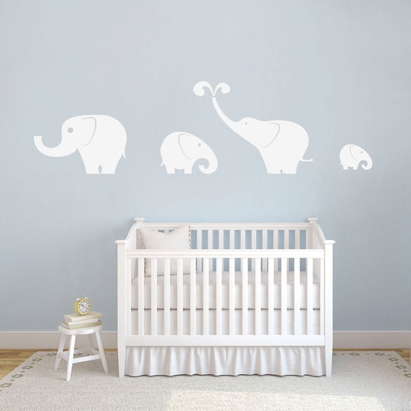 Elephants Wall Decals Set