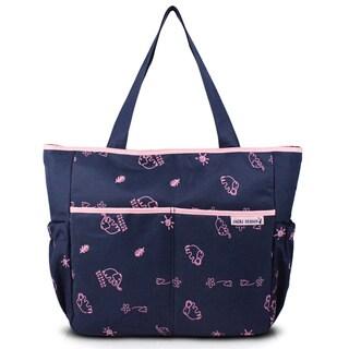Jacki Design Animal Print Diaper Bag