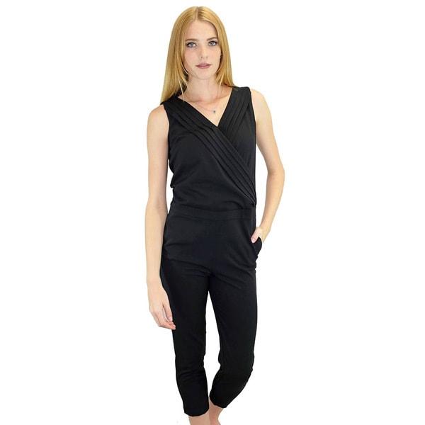 Women's Vera Black Jumpsuit