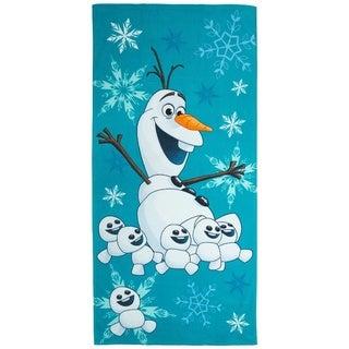Disney's Frozen Olaf Cotton Beach Towel