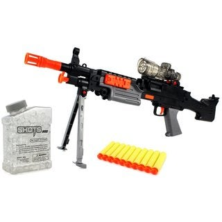 Velocity Toys Toy Foam Dart and Water Polymer Ball YK Super Machine Gun