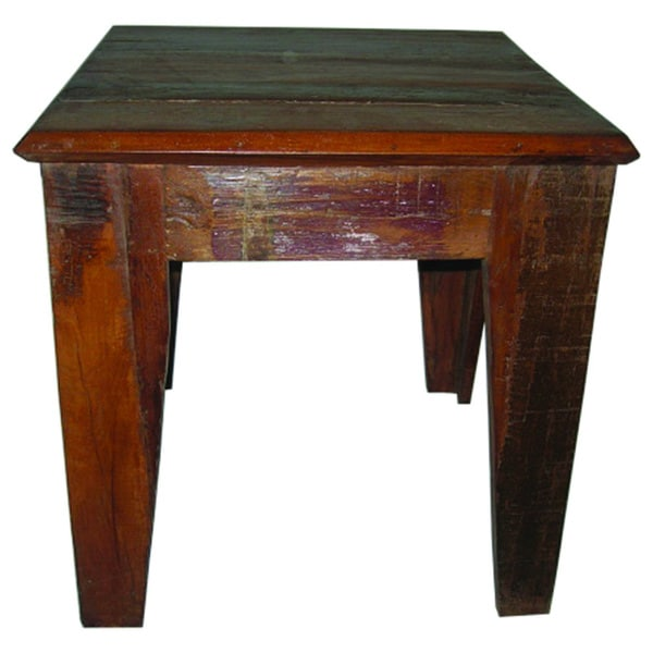 Beech End Table