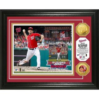 Max Scherzer 'No-Hitter' Gold Coin Photo Mint