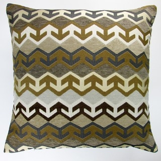 Artisan Pillows Indoor 20-inch Geometric Arrow in Brown Southwestern Country Cabin Accent Throw Pillow Cover