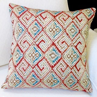 Artisan Pillows Indoor 20-inch Southwestern Country Western Ikat Geometric Modern Accent Throw Pillow Cover