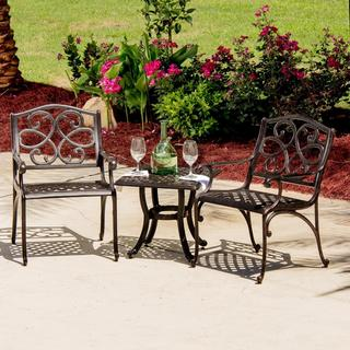 Savanna 2-Person Patio Bistro Set