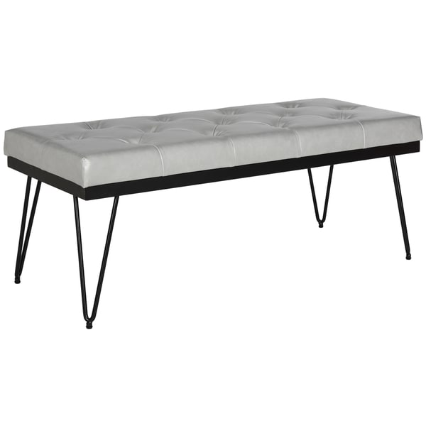 Safavieh Marcella Grey/ Black Bench
