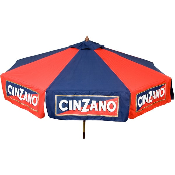 9-foot Cinzano Market Umbrella