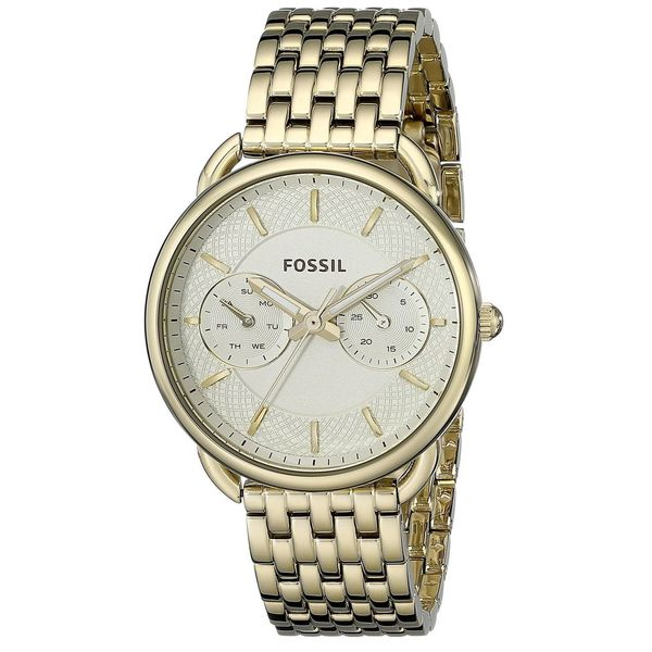 Fossil Women's Tailor Multi-Function Gold-Tone Stainless Steel Watch ES3714