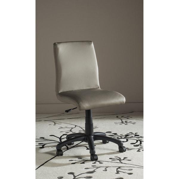 Safavieh Office Grey Hal Desk Chair