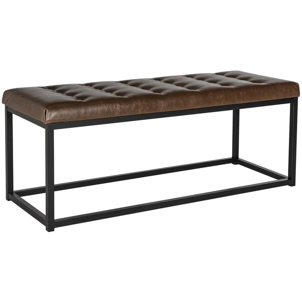 Safavieh Reynolds Brown/ Black Bench