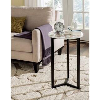 Safavieh Zaira Grey/ White End Table