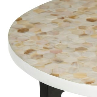 Safavieh Zaira Cream End Table