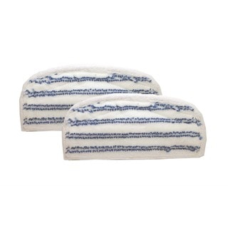 2 Bissell Washable Pads Fit Steam & Sweep Hard Floor Cleaner Series 46B4, Part 75F5 2032200 203-2200 By Crucial Vacuum