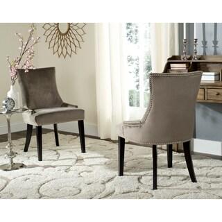 Safavieh En Vogue Dining Lester Mushroom Side Chairs (Set of 2)