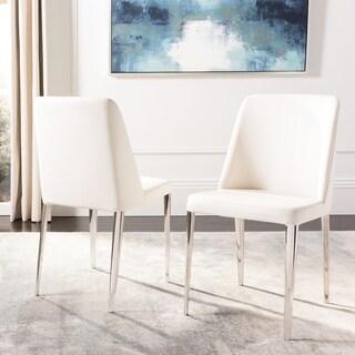 Safavieh Metropolitan Dining Baltic White Side Chairs (Set of 2)