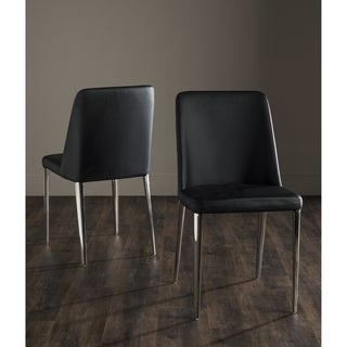 Safavieh Baltic Black Side Chair (Set of 2)