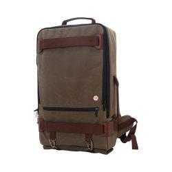 Token Waxed Dekalb Dark Brown 17-inch Laptop Backpack