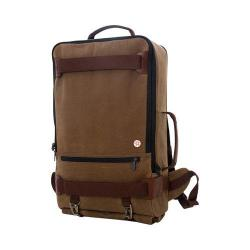 Token Waxed Dekalb Field Tan 17-inch Laptop Backpack