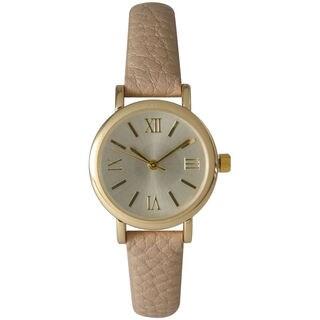 Olivia Pratt Women's Petite Classic Style Fun Leather Strap Watch