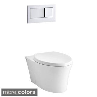 Kohler Veil 1-Piece Dual-Flush Elongated Toilet
