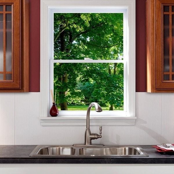 Fasade Rib Gloss White 18x24 Backsplash Panel