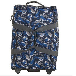 Calpak 'Rover' Blue Bird 20-inch Washable Rolling Carry-On Upright Suitcase