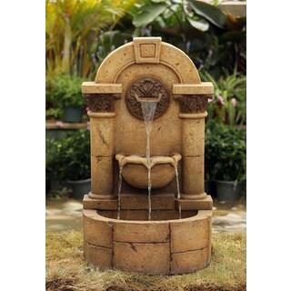 Marble Pillar Garden Wall Fountain