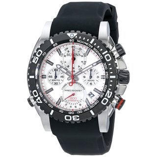 Bulova Men's 98B210 Stainless Steel Precisionist Chronograph 200M UHF Watch