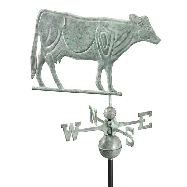 Good Directions Blue Verde Dairy Cow Weathervane