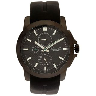 Kenneth Cole Men's KC8022 Chronograph Black Rubber Watch