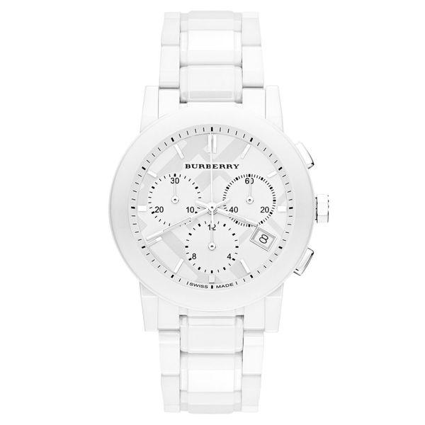 Burberry Men's BU9080 White Ceramic Watch