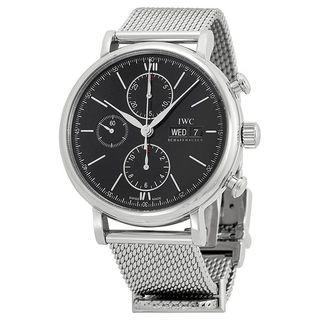 IWC Men's IW391010 'Portofino' Chronograph Automatic Stainless Steel Watch
