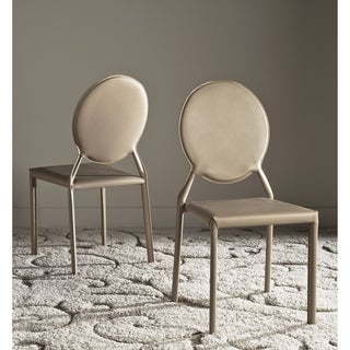 Safavieh Warner Taupe Side Chair (Set of 2)