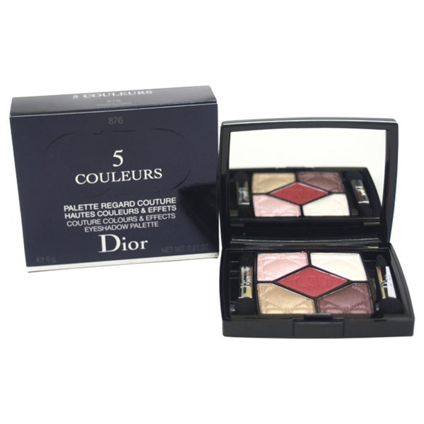 Dior 5 Couleurs Couture Colours & Effects Eyeshadow Palette # 876 Trafalgar