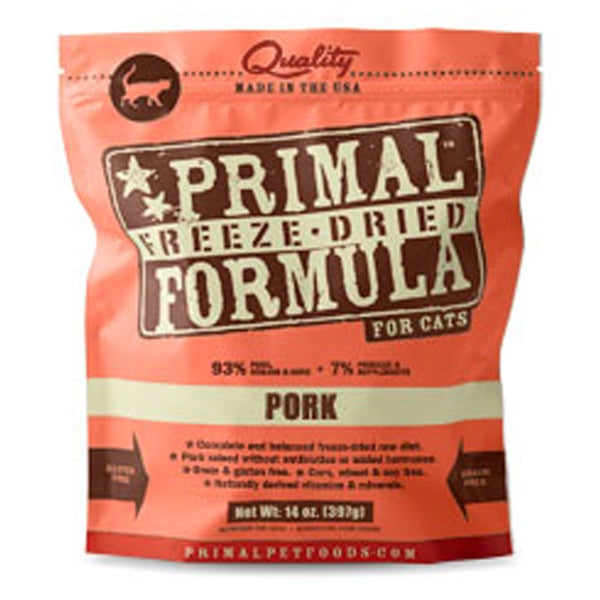 Primal Freeze Dried Pork Formula Cat Food