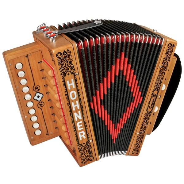 Hohner Cajun IV 10-key Accordion