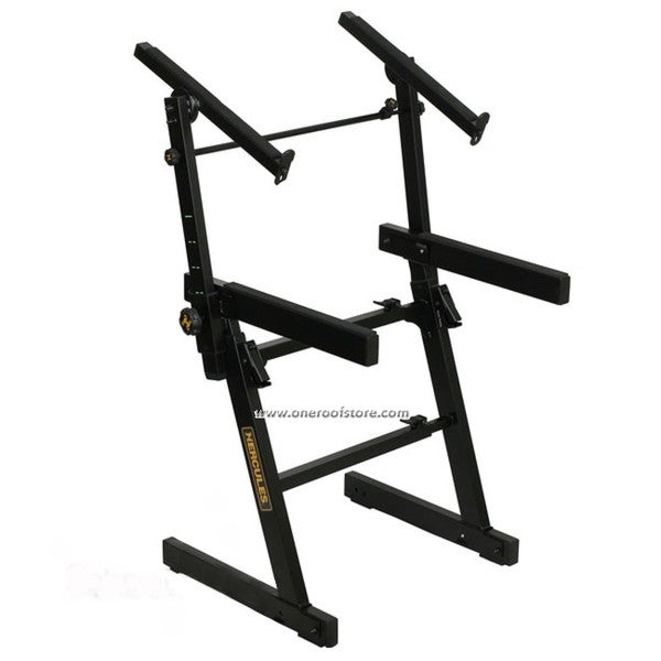 Hercules KS410B 2-tier Adjustable Z-frame Keyboard Stand