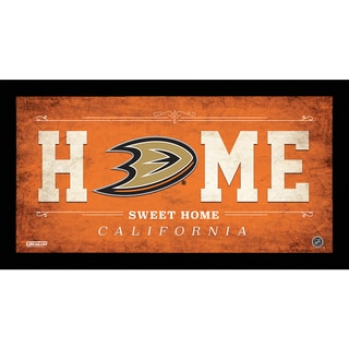 Anaheim Ducks 10x20 Home Sweet Home Sign