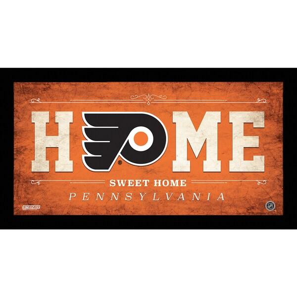 Philadelphia Flyers 6x12 Home Sweet Home Sign