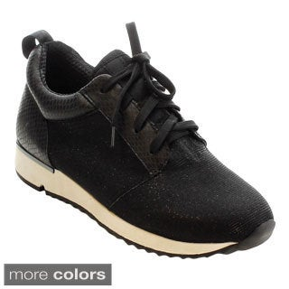 MI.IM Jude-01 Women's Stylish Lace Up Mesh Breathable Running Shoes