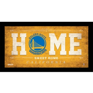 Golden State Warriors 10x20 Home Sweet Home Sign
