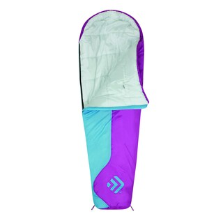 Outdoor Products Boy's Mummy Sleeping Bag Blue/ Purple