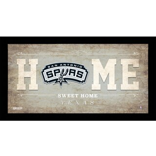 San Antonio Spurs 10x20 Home Sweet Home Sign