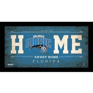 Orlando Magic 10x20 Home Sweet Home Sign
