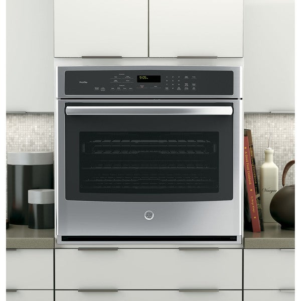 Ge profile series 30 inch built in single convection wall for Built in microwave ovens 30 inch