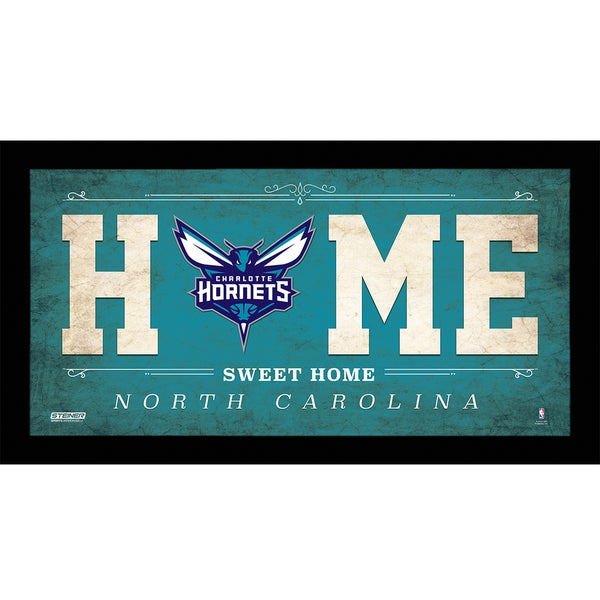 Charlotte Hornets 6x12 Home Sweet Home Sign