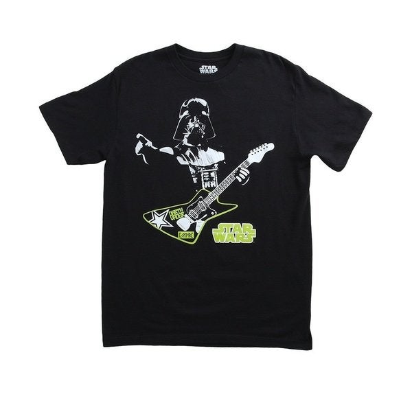 Darth Vader Guitar Hero Star Wars T-Shirt Funny Evil Empire Playing Dark Side