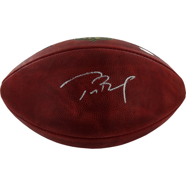 Tom Brady Signed Official NFL Wilson Football